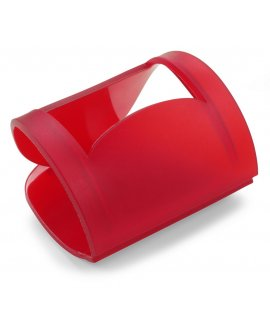 Flexi mobile phone holder, supplied flat, suitable for mailing